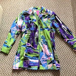 Suede Color Jacket